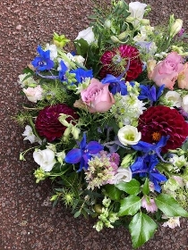 Funeral Posy ,  Florists choice